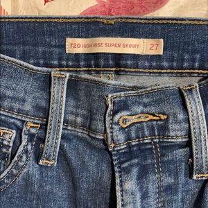 Levi jeans - 720- high rise super skinny